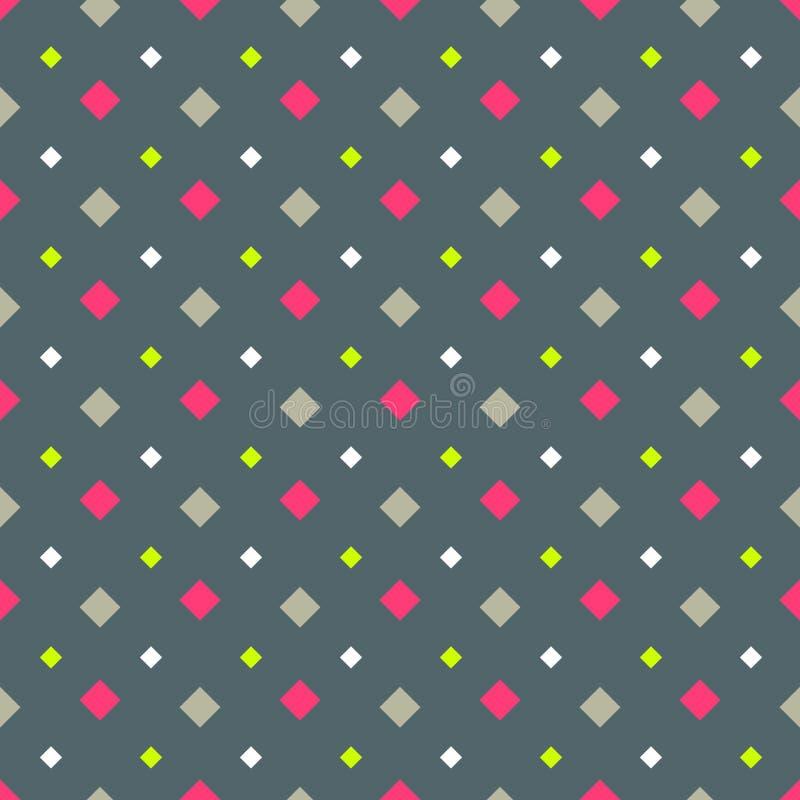 Geometrycznej abstrakcjonistycznej kolor bezszwowej deseniowej ilości wektorowa ilustracja dla twój projekta ilustracji