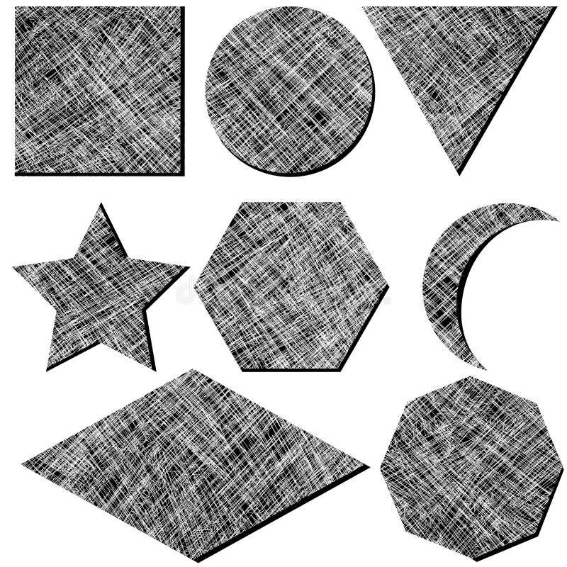 geometryczni lampasy ilustracji