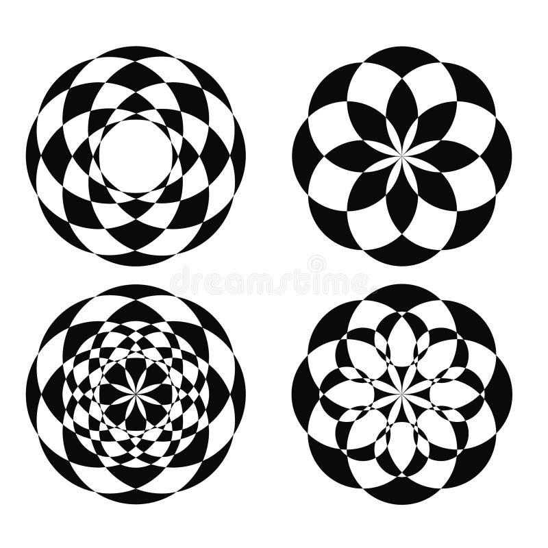 Geometryczni wzory 1 zdjęcia stock