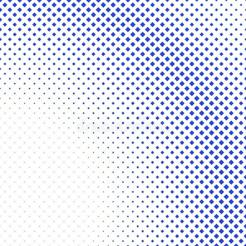 Geometryczny abstrakcjonistyczny halftone kwadrata wzoru tło ilustracja wektor