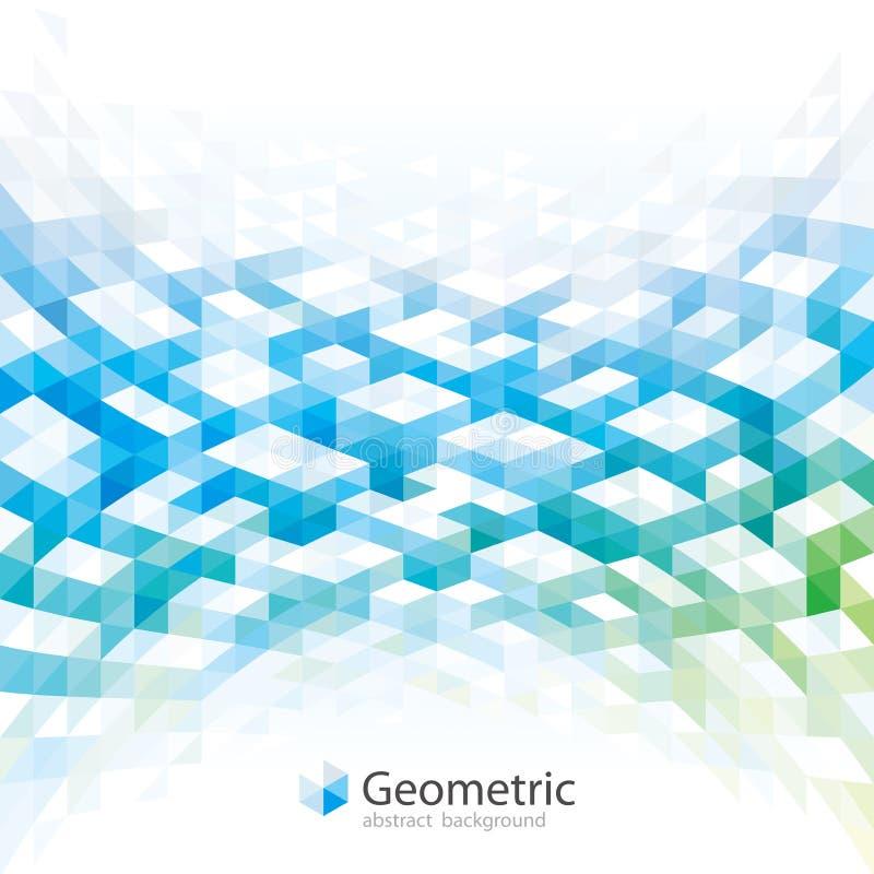 Geometryczny abstrakcjonistyczny tło projekt ilustracji