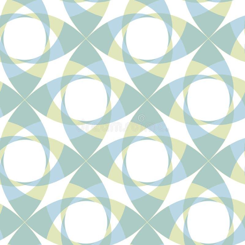 geometryczny bezszwowy przejrzysty wzór obrazy royalty free