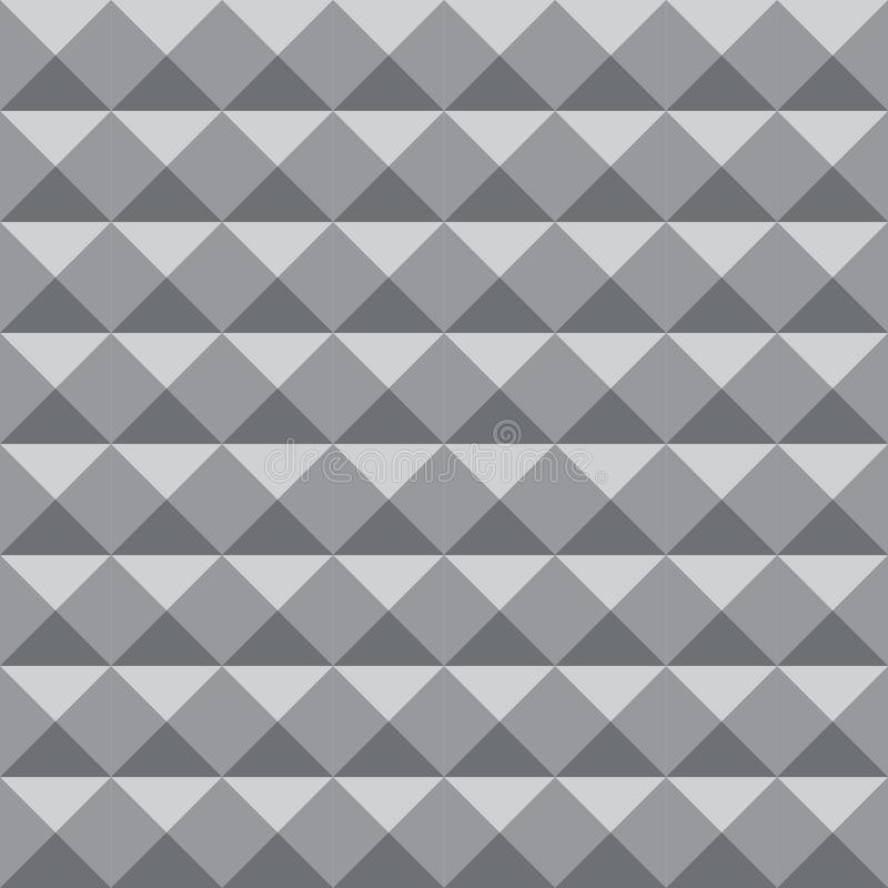 Geometryczny deseniowy tło z szarość barwi dla projekta lub tła purposes royalty ilustracja