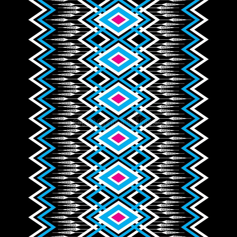 Geometryczny etniczny deseniowy tradycyjny fotografia royalty free