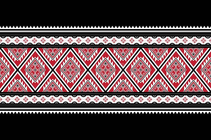 Geometryczny etniczny deseniowy tradycyjny obraz royalty free