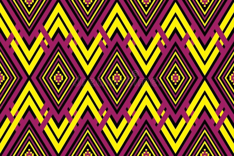 Geometryczny etniczny deseniowy tradycyjny projekt dla tła, dywan, tapeta, odzież, opakowanie, batik, tkanina, sarong obrazy royalty free
