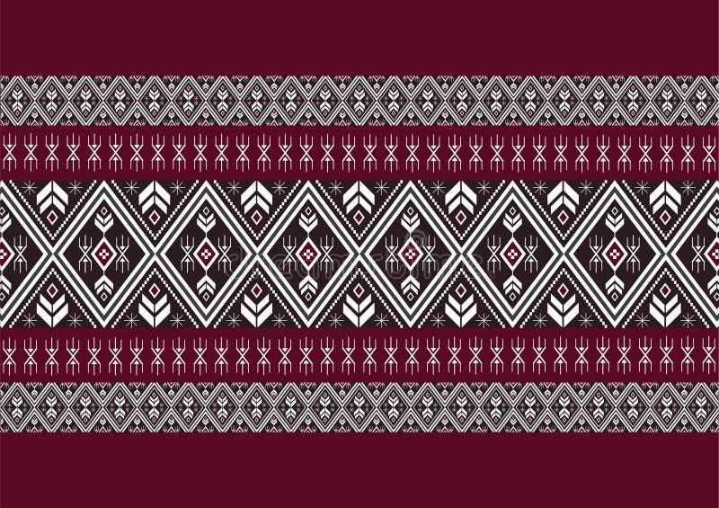 Geometryczny etniczny wzór obrazy royalty free