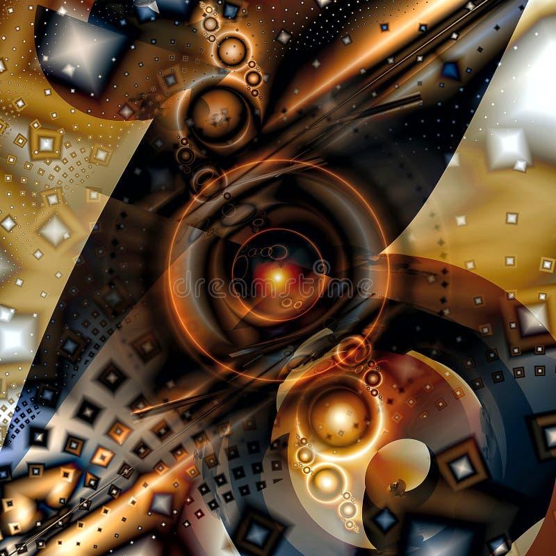 Geometryczny Fractal III obrazy stock