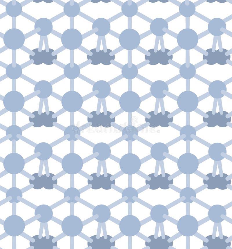Geometryczny i kolorowy deseniowy tło ilustracja wektor