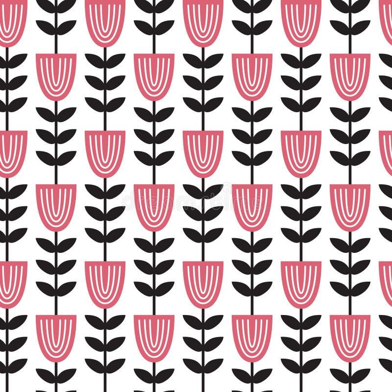Download Geometryczny kwiat ilustracja wektor. Ilustracja złożonej z czerń - 106907539