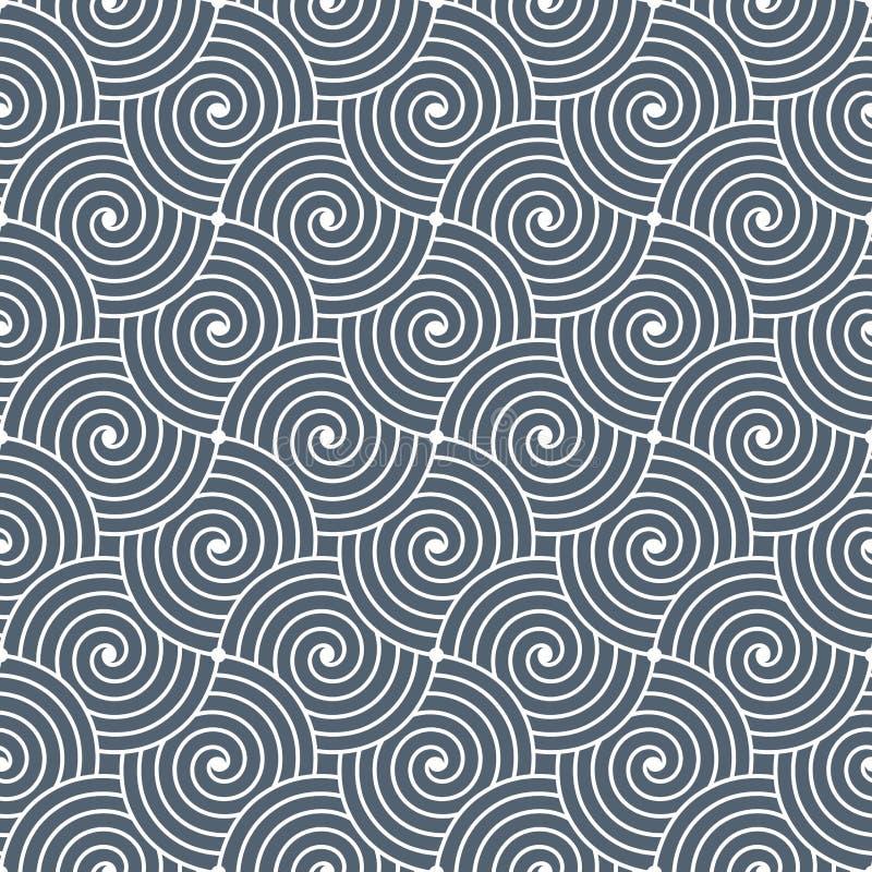 Geometryczny ornamentacyjny deseniowy tło Wektorowej grafiki szablon ilustracji