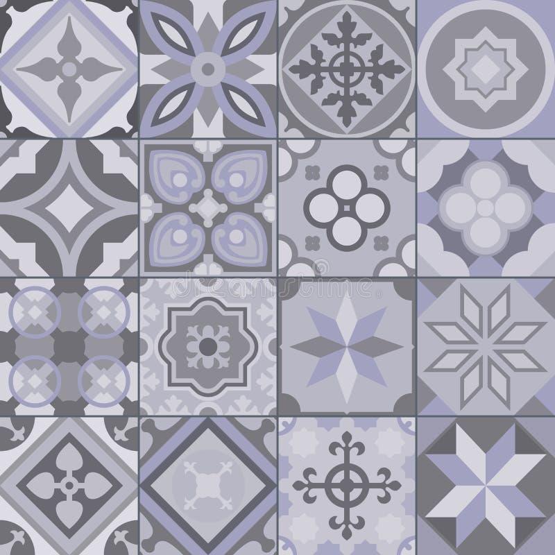 Geometryczny płytka wzór fotografia stock