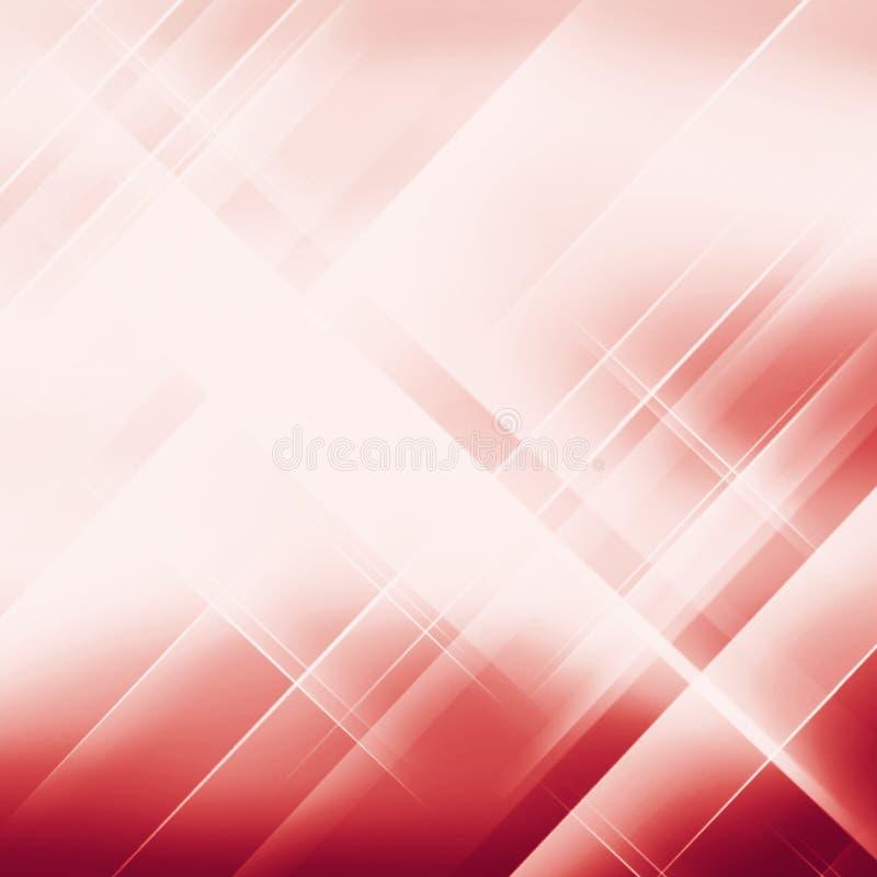 Geometryczny Pasiasty ornament nowożytna elegancka tekstura czerwony liniowy br ilustracja wektor