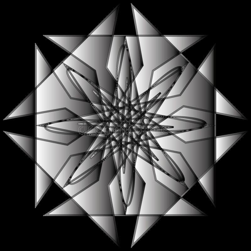 Geometryczny set gra główna rolę i kwitnie dla prezentów i wakacje deseniują wektor EPS10 zdjęcie stock