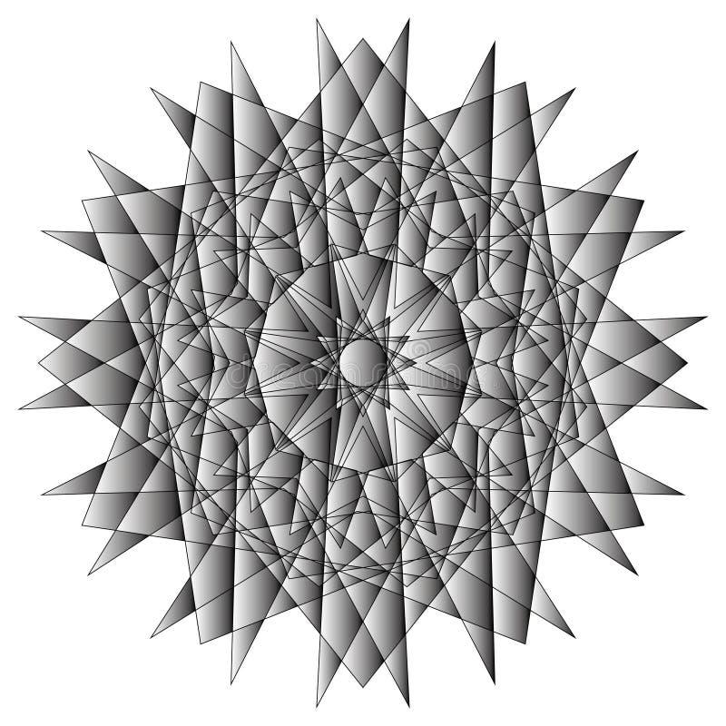 Geometryczny set gra główna rolę i kwitnie dla prezentów i wakacje deseniują wektor EPS10 ilustracja wektor