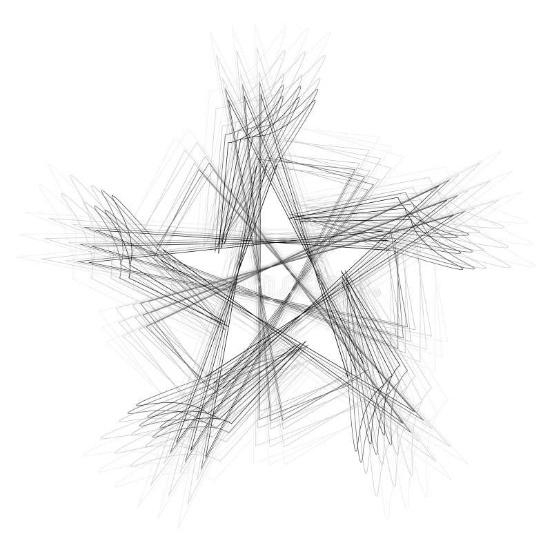 Geometryczny set gra główna rolę i kwitnie dla prezentów i wakacje deseniują wektor EPS10 fotografia stock