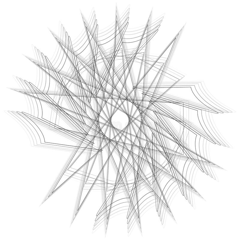 Geometryczny set gra główna rolę i kwitnie dla prezentów i wakacje deseniują wektor EPS10 obrazy royalty free