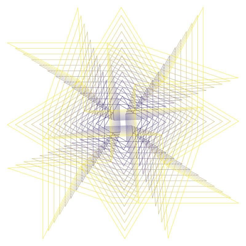 Geometryczny set gra główna rolę i kwitnie dla prezentów i wakacje deseniują wektor EPS10 ilustracji