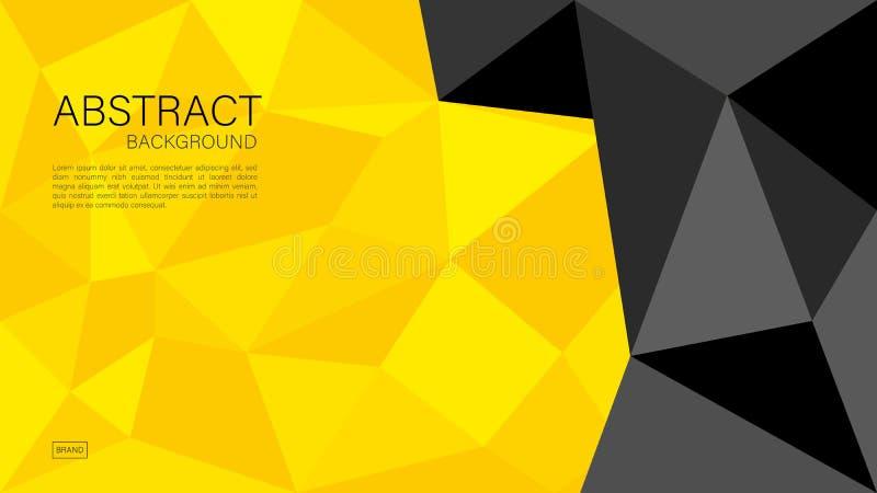 Geometryczny tło wektor, poligonalna grafika, Minimalna tekstura, okładkowy projekt, ulotka szablon, sztandar, strona internetowa ilustracja wektor