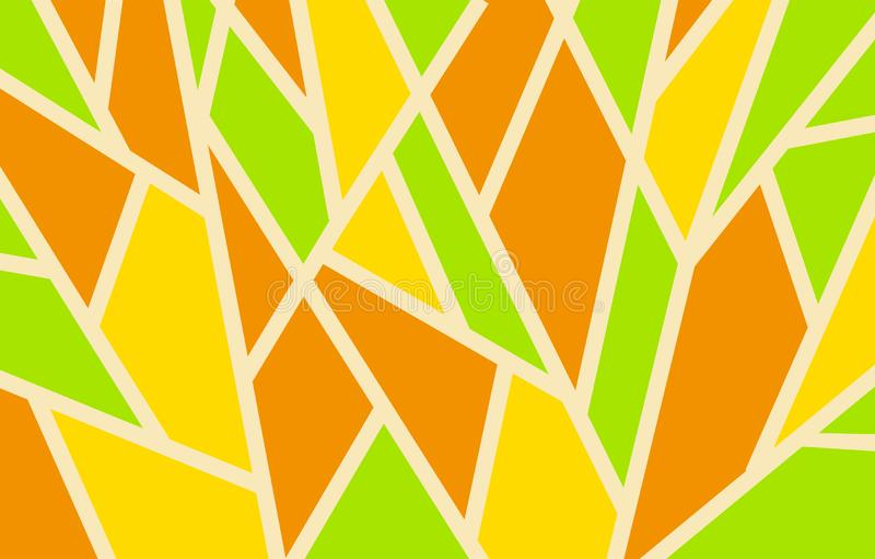Geometryczny tło wzór trójboki, jaskrawi barwioni kształty obrazy royalty free