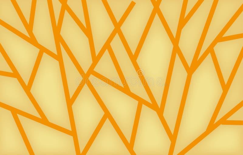 Geometryczny tło wzór trójboki, jaskrawi barwioni kształty obraz stock