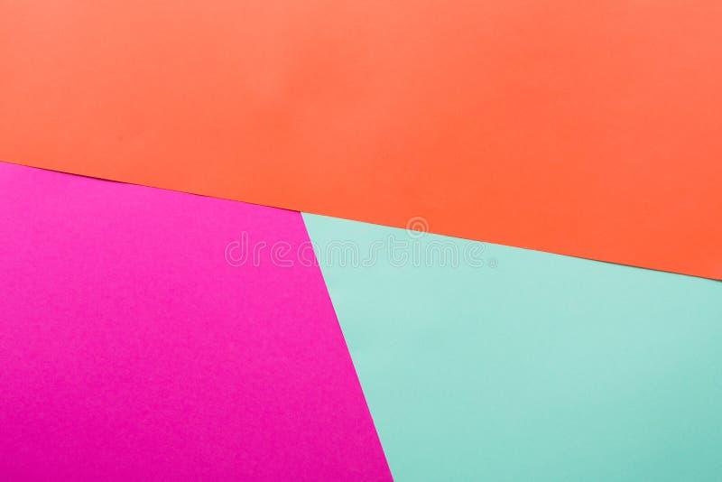 Geometryczny textured abstrakcjonistyczny koloru tło fotografia stock