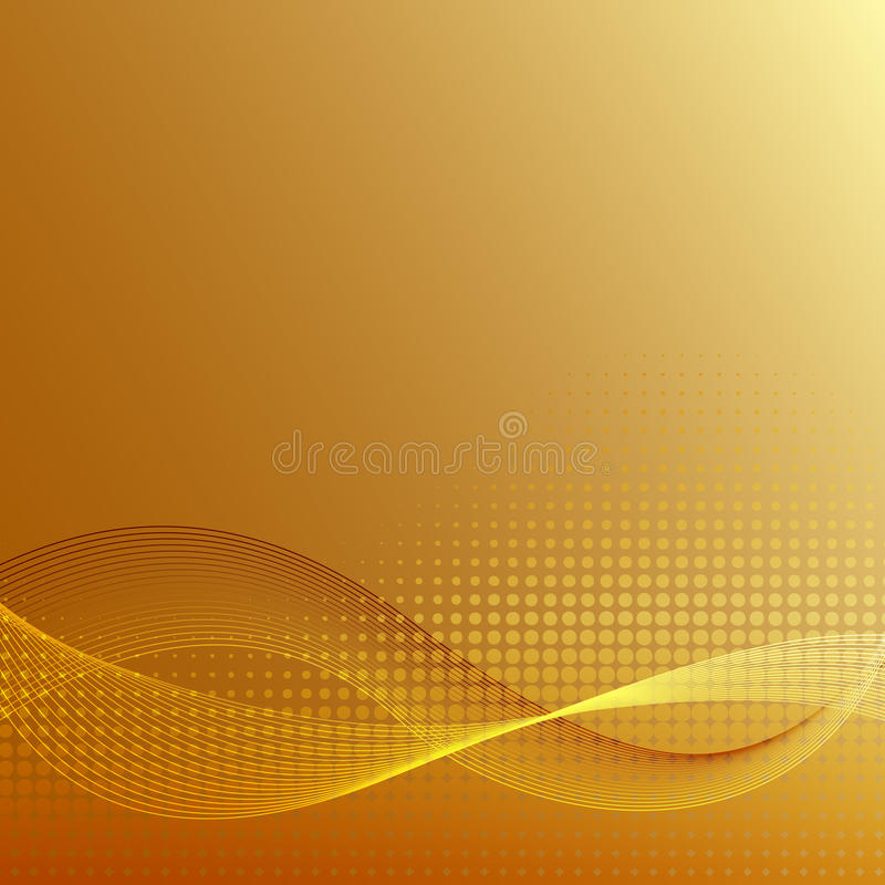 geometryczny wzór Mody grafika złoty tło projekt Nowożytna ozdobna abstrakt granica Szablon dla druków, tkanina, zawija ilustracji