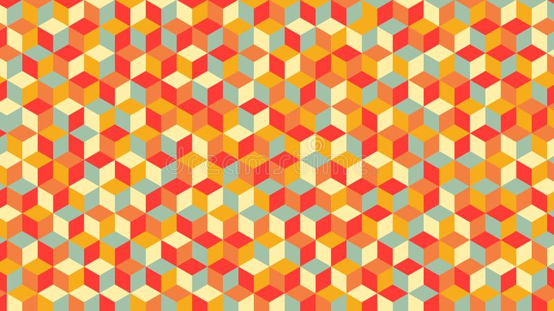 Geometryczny wzór Piękni kolory, także najlepszy dla tapety obrazy stock