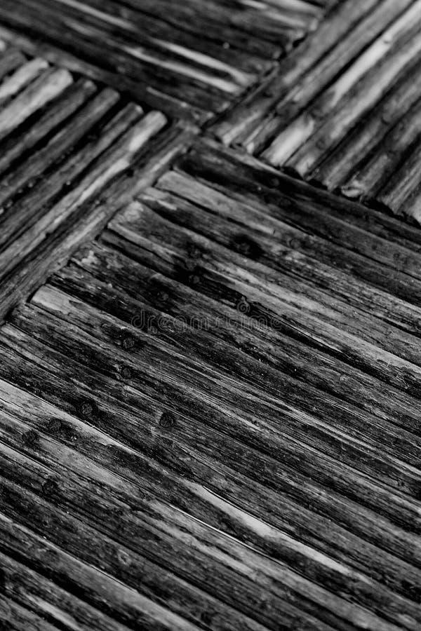 Geometryczny wzór w drewnie zdjęcia royalty free
