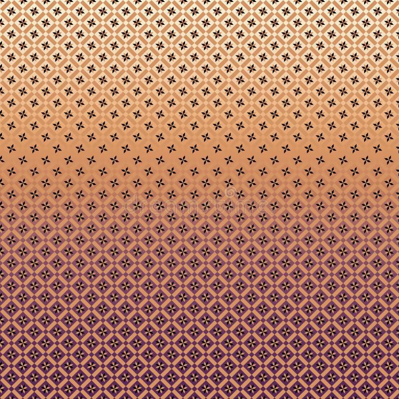 Geometryczny wzór z gwiazda składu linearnym projektem obraz royalty free