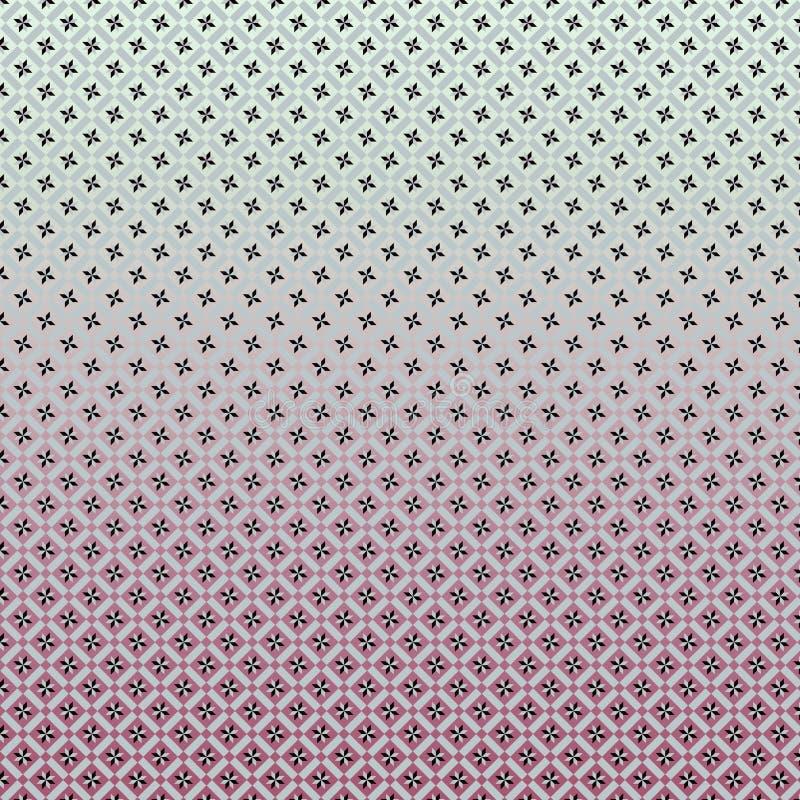Geometryczny wzór z gwiazda składu linearnym projektem zdjęcie royalty free