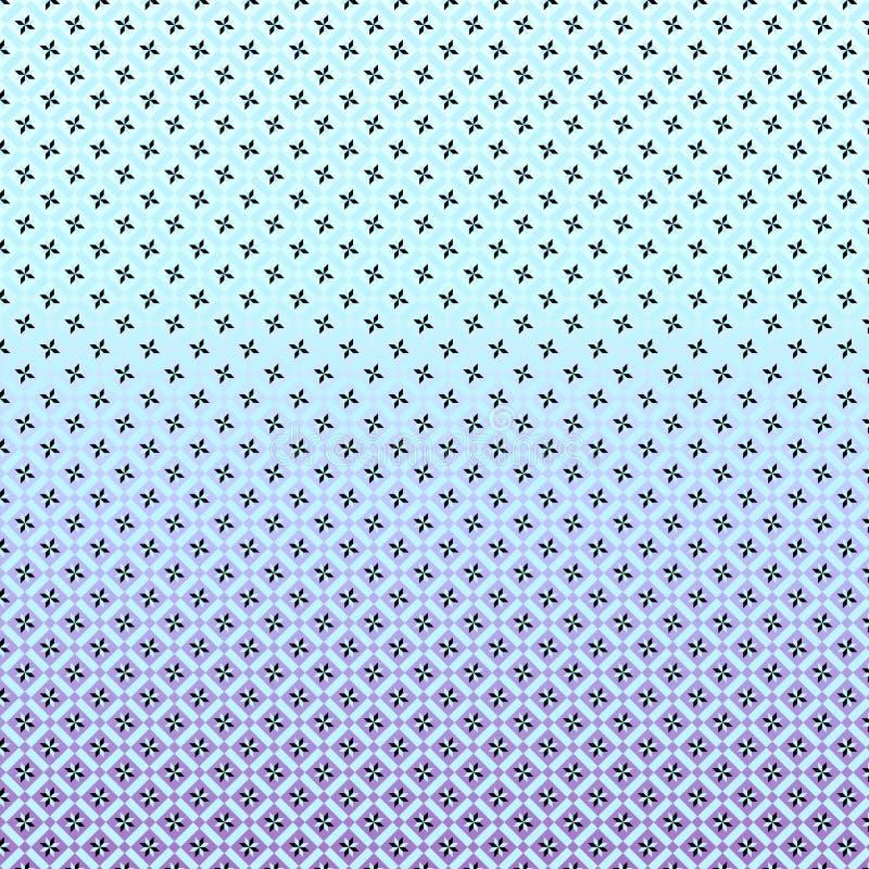 Geometryczny wzór z gwiazda składu linearnym projektem fotografia royalty free