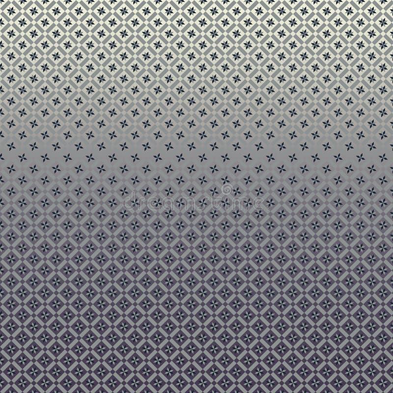 Geometryczny wzór z gwiazda składu linearnym projektem obraz stock