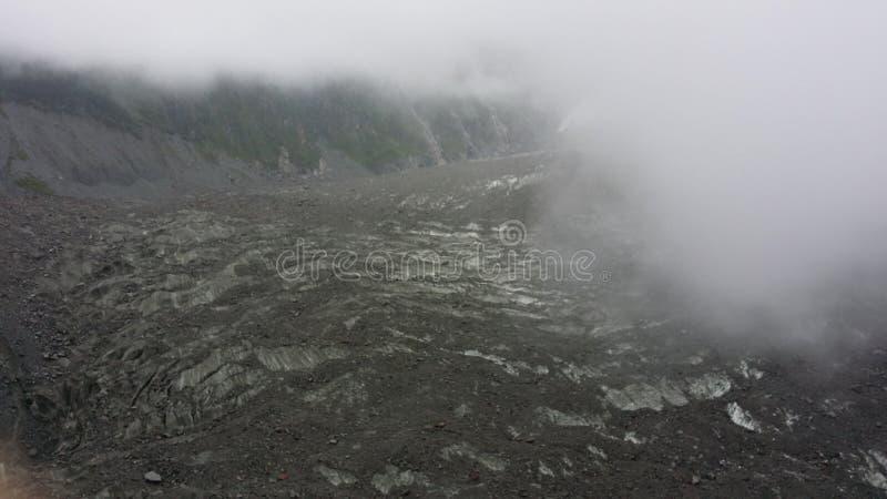 Geomorfología del glaciar en Tíbet fotografía de archivo