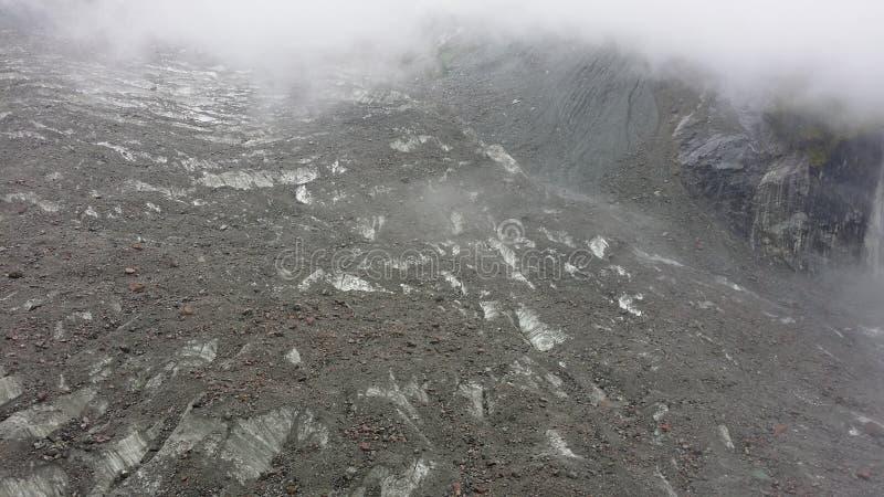 Geomorfología del glaciar en Tíbet imagenes de archivo