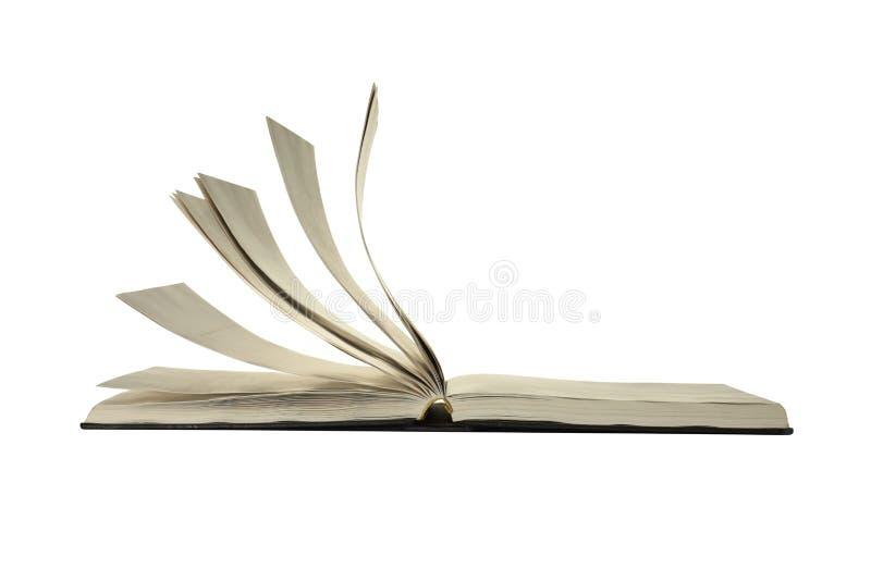 Geopend boek royalty-vrije stock foto's