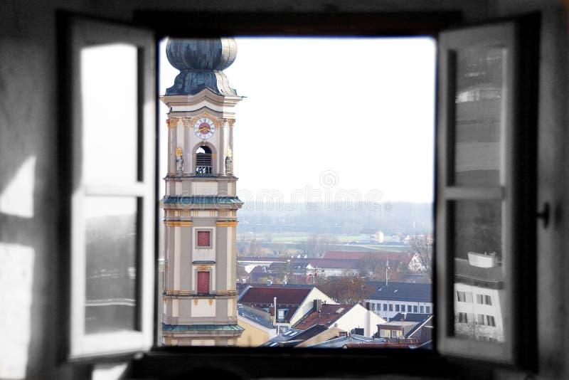 Geopend venster royalty-vrije stock foto's