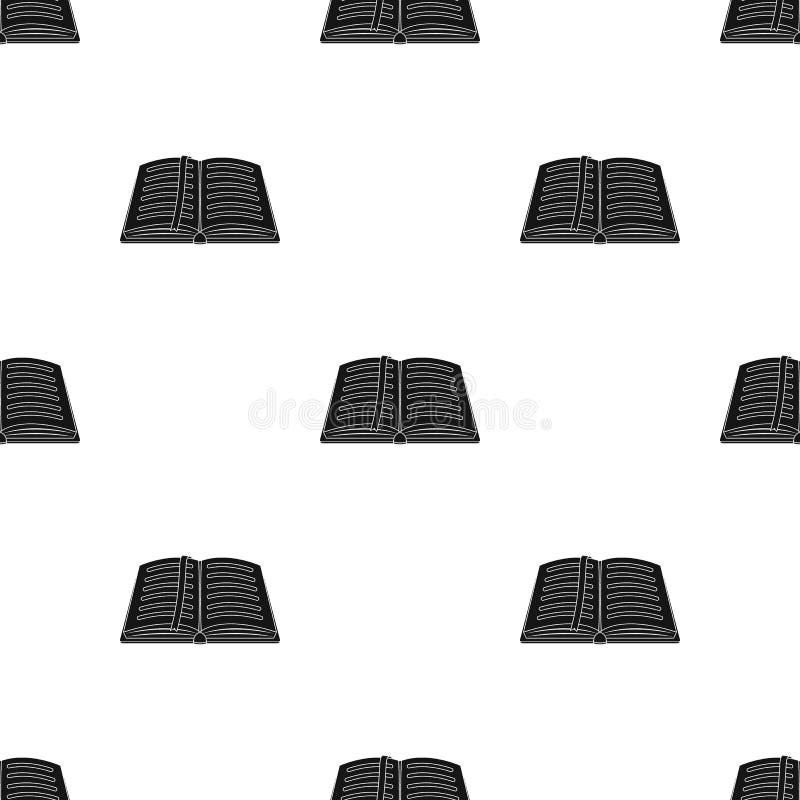 Geopende blocnote met potlood en pen in hoogste mening Sketchbook of agenda Notitieboekje met rode referentie Een notitieboekje o vector illustratie