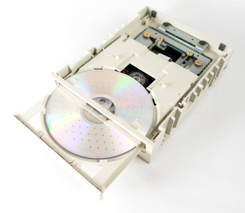 Geopende CD-romeenheid stock foto's