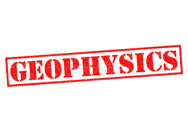 geophysics ilustração royalty free