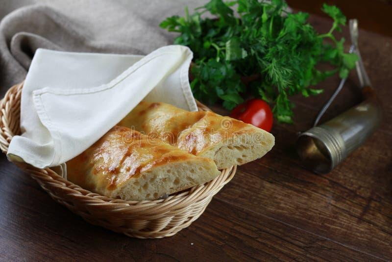 Georgain面包 库存图片