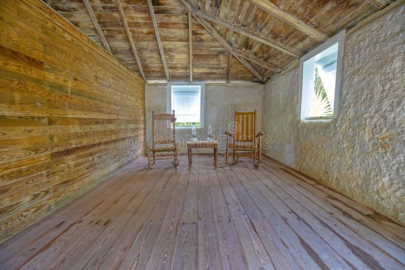 George Adderley House Living Room lizenzfreies stockfoto