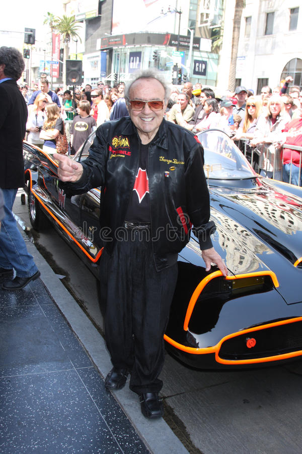 George Barris, Adam West stockfotos