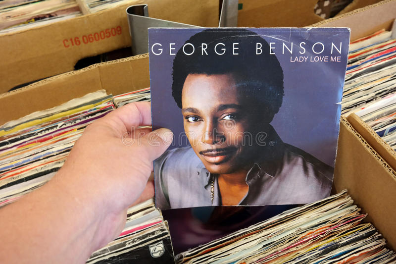 George Benson - Dame Love Me royalty-vrije stock foto's