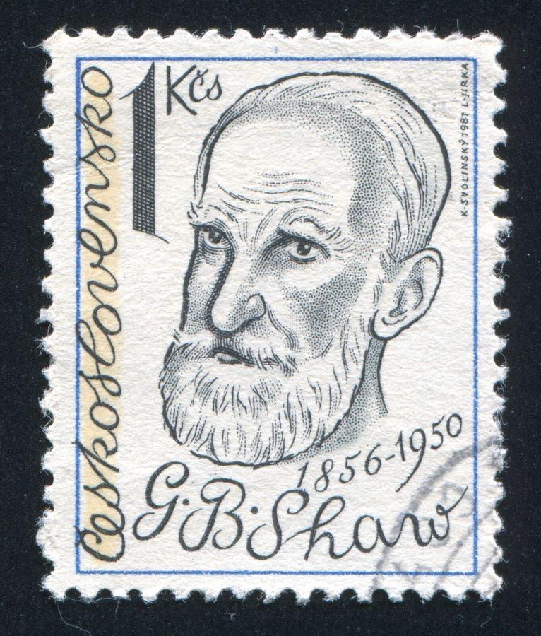 George Bernard Shaw image libre de droits