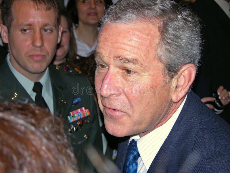 George Bush In Ukraine Editorial Photo