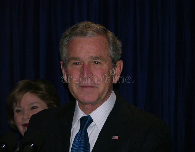 George bush w zdjęcia royalty free