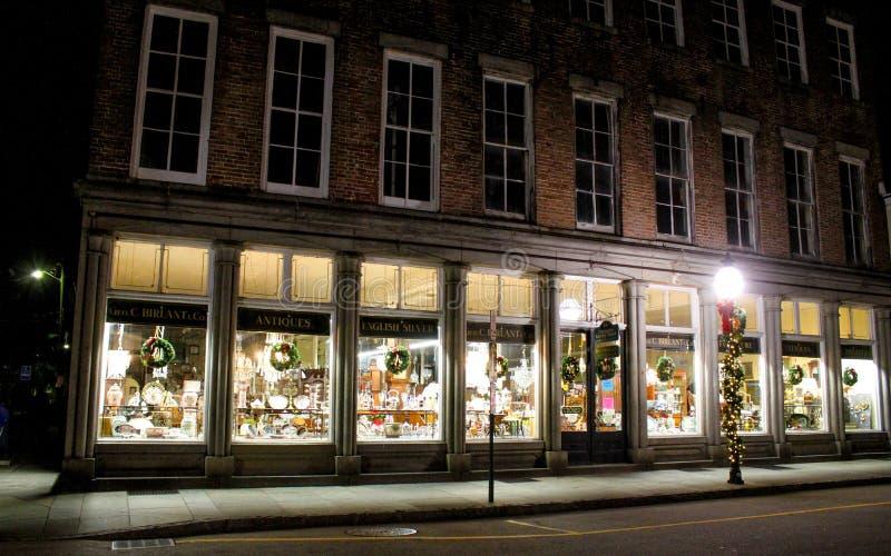 George C Birlant e antiguidades de Empresa, Charleston, SC fotos de stock royalty free
