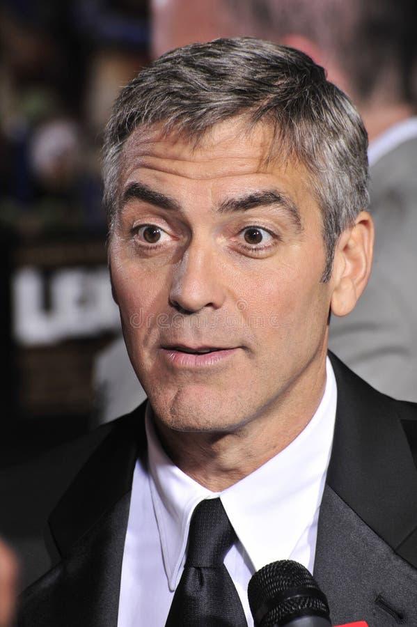 George Clooney photographie stock libre de droits