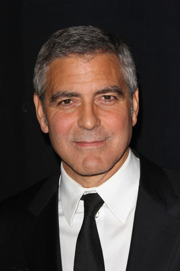 George Clooney royalty-vrije stock afbeelding